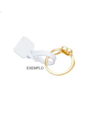 Etiqueta para preços de anel com 100 unidades