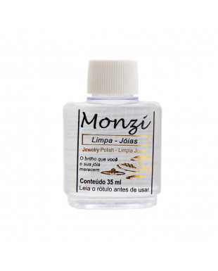 Limpa joias monzi médio com 35 ml